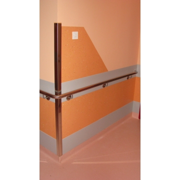 Protection of wall, corner and wall hand rail