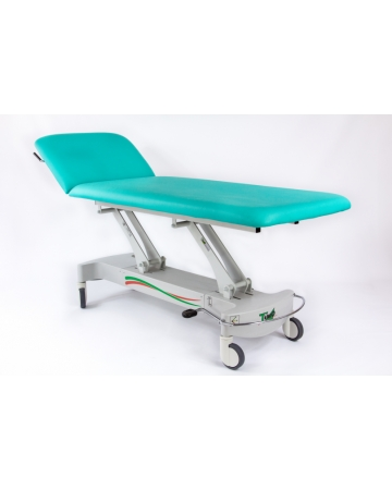 Examination, therapy table, 2 section hydraulic; art. 114500