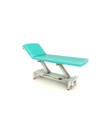 Examination, therapy  table, 2 section hydraulic or electric art. 115200 ali 115210