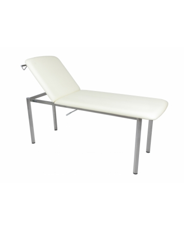 Examination table, 2 section, fixed height with adjustable backrest art. 113200