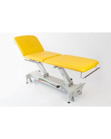 Examination, therapy table, 3 section hydraulic or electric art. 115300 ali 115310