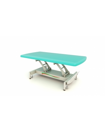 Examination, therapy table, 1 section, Bobath Vojta, hydraulic or electric art. 114100 ali 114110