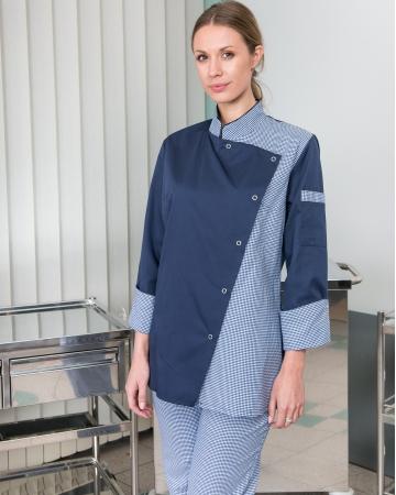 Bluza kuharska na preklop art. 02-000100