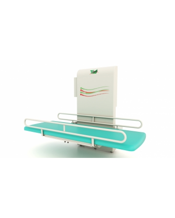 Wall mounted changing table, 1 section, electric art. 155140