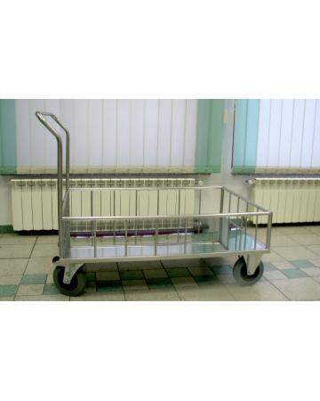 Transportni voziček inox art. 300710*2