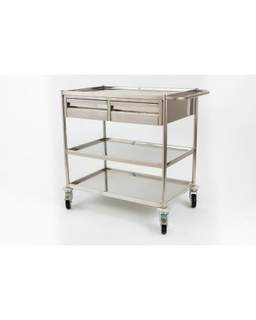 Stainless steel trolley art. 310001
