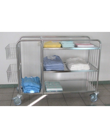 Trolley for the colection and distribution of linen art. 300440