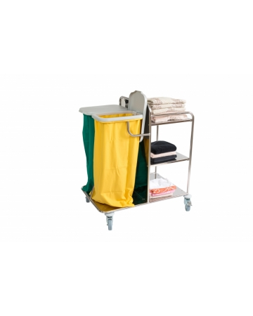 Trolley for the colection and distribution of line nart. 300410