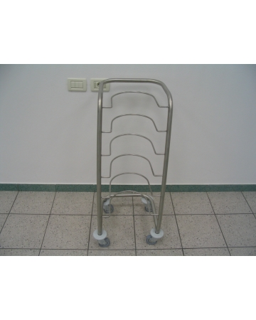 Trolley for transportation of bedpan art. 300800