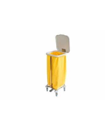 Voziček za prevoz umazanega perila enojni art. 300110P