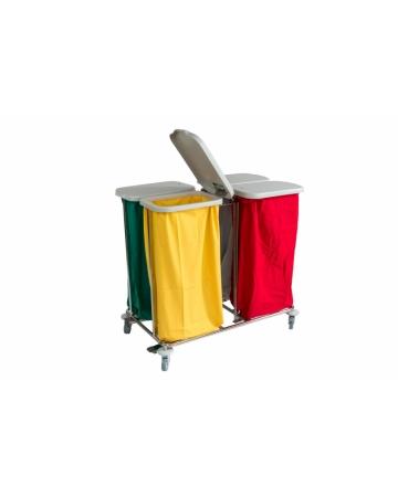 Voziček za prevoz umazanega perila štiridelni art. 300404/P